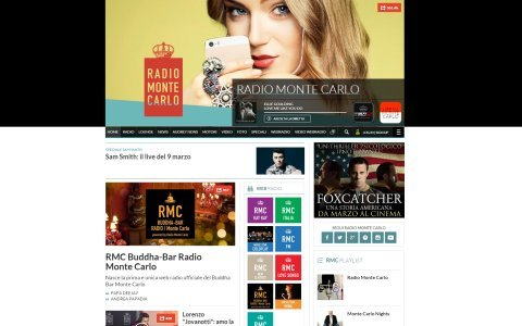 nuovo sito radio monte carlo